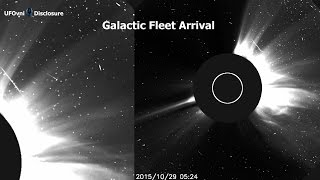 Giant UFO Armada, Galactic Fleet, Arrival of the Sun - Halloween 2015