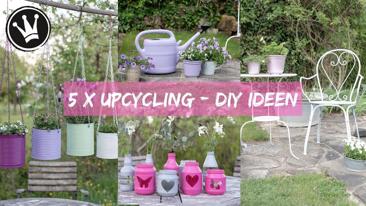 Diy Gartenstecker Blumenampel Aus Beton Betonkegel Dachwurz Hangepflanze How To Youtube