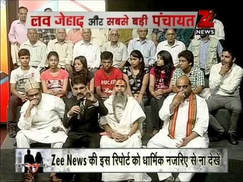 Zee Media special: Watch the biggest discussion on 'Love Jihad'