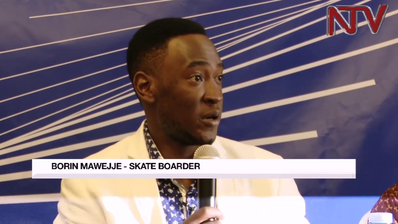 Ugandan skater Brian Mawejje hopes for government support in his Olympic bid
