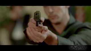 From Paris with Love - Jonathan Rhys Meyers and John Travolta