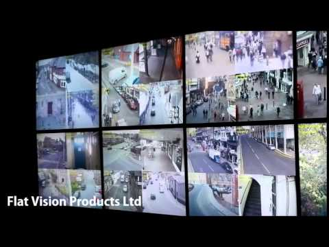 Flat Vision Products Ltd supply for CCTV Monitor Video Wall YouTube