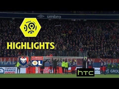 SM Caen - Olympique Lyonnais (3-2) - Highlights - (SMC - OL) / 2016-17
