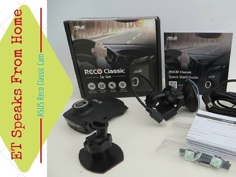ASUS RECO Classic Dash Camera Review