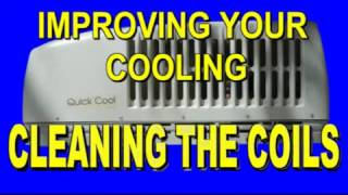 CLEANING THE COILS ON AN RV AIR CONDITIONER