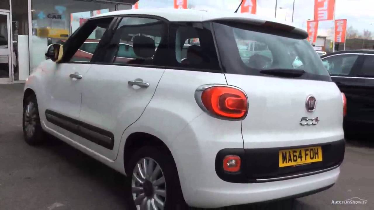 fiat 500l multijet pop star white 2014 youtube. Black Bedroom Furniture Sets. Home Design Ideas