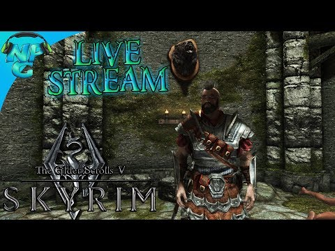 Elder Scrolls V: Skyrim - Special Edition Live Stream Series E1 - Escaping My Captivity!