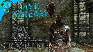 Elder Scrolls V Skyrim Special Edition Live Stream Series E1 Escaping My Captivity