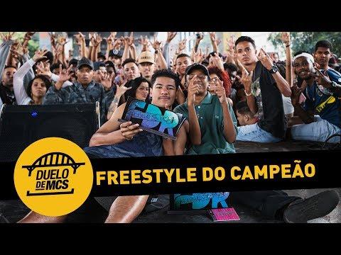 Freestyle do Campeão Mainart e Deivis - Duelo de MCs - 10/06/18