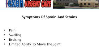 Sprains and Strains Treatment at Urgent Care, Austin