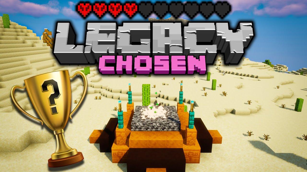 THIS IS IT! Legacy Chosen Challenge - Day 6 [Minecraft 1.16 Multiplayer]