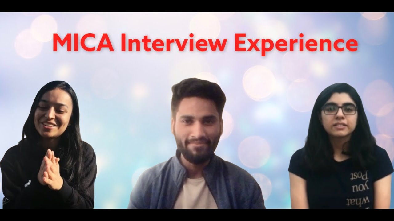 Ep 1 | MICA GE PI | Experience | MICA Interview Experience | 2021 | MICA College | #ThisDayLastYear