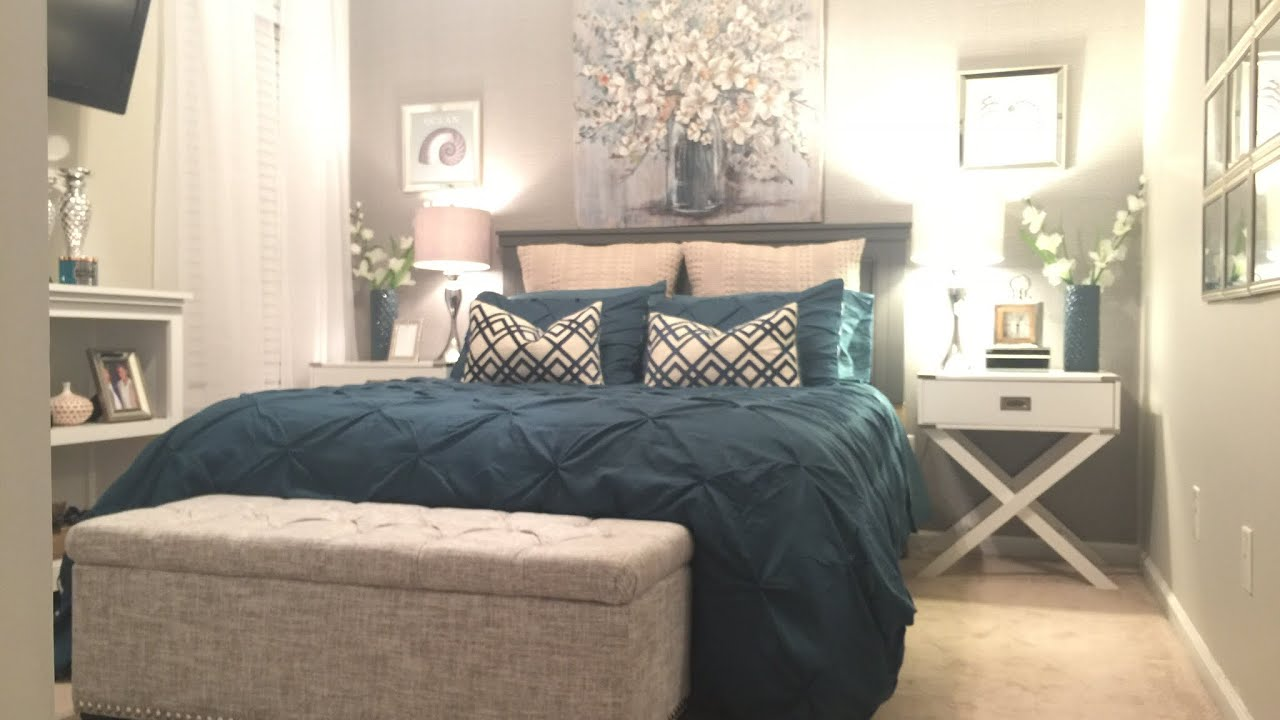 Guest Bedroom Decorating Ideas On A Budget - YouTube on Room Decor Ideas id=73630