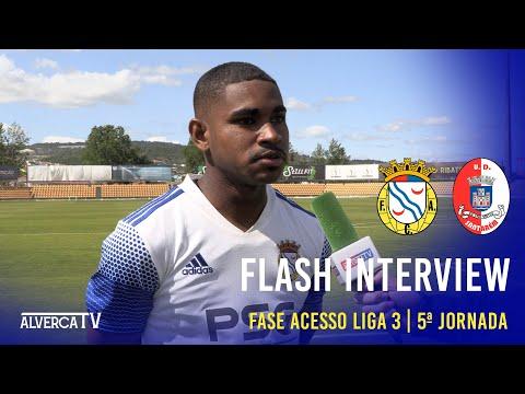 FC Alverca 0-0 U. Santarém | Flash Interview