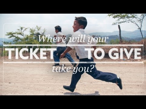 TOMS Ticket to Give 2013