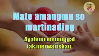 Dang Turpukta Hamoraon Dewi Marpaung + Lirik Indonesia
