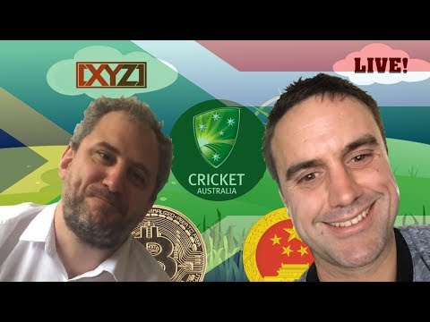 XYZ Live #6 - South African Genocide, the Australian Cricket Teams tour, Censorship and more.