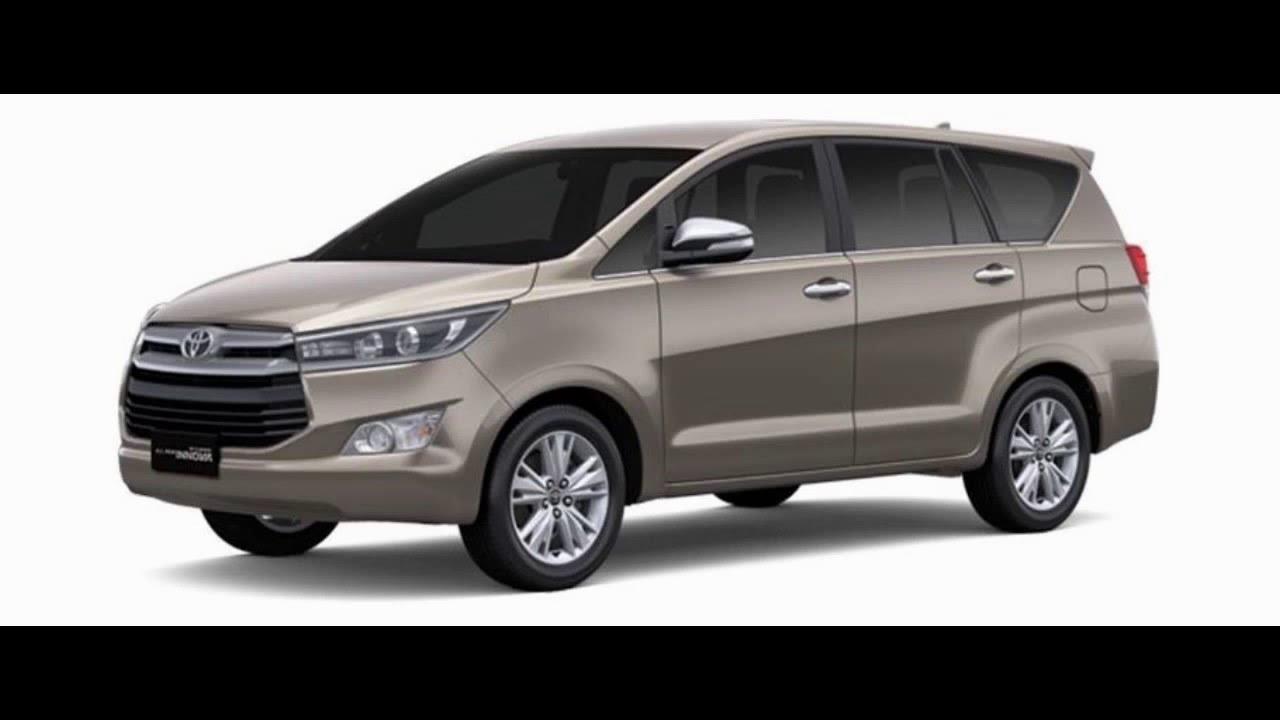 Toyota Innova Crysta 2016 Colors India Youtube