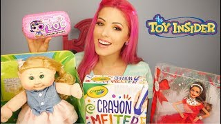 Toy Insider Barbie, LOL, Cabbage Patch & more!