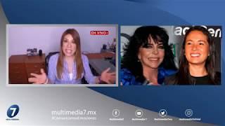 ¡Verónica Castro NIEGA haberse CASADO con Yolanda Andrade!/ ¡Suéltalo Aquí! Con Angélica Palacios