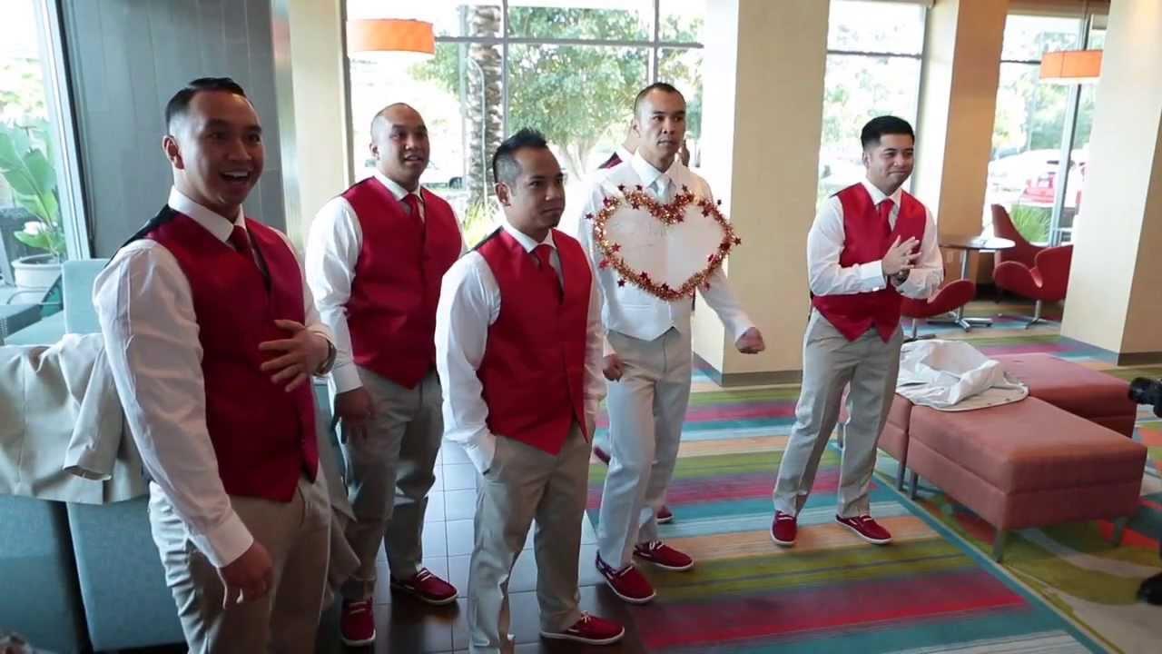Chinese Wedding Door Games  Residence Inn Long Beach -3493
