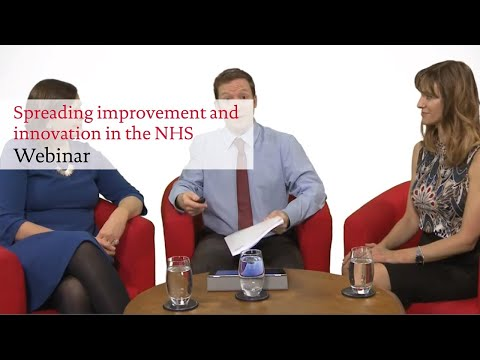 Spreading innovation and improvement in the NHS