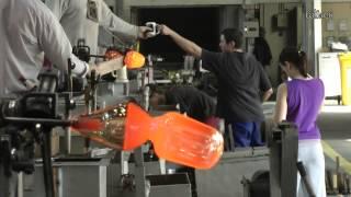 Как делают Богемское стекло - How do Bohemian glass(, 2014-04-10T22:16:43.000Z)