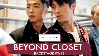 Seoul Fashion Week | Backstage @ Beyond Closet FW16 with Mutzine!
