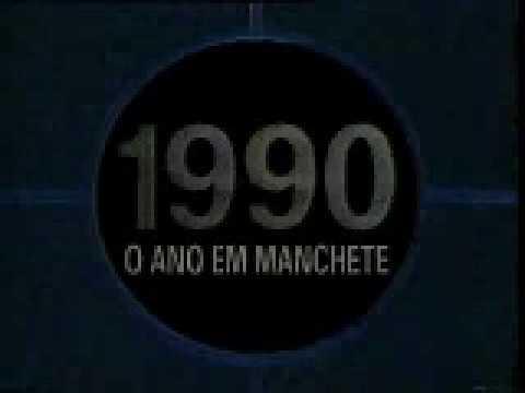 Vinheta Retrospectiva 1990 - TV Manchete