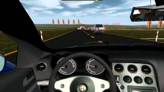World Racing 2 Alfa Romeo Brera Gameplay PC.avi