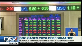 BOC Gas reports 82% growth in its year on year net earnings