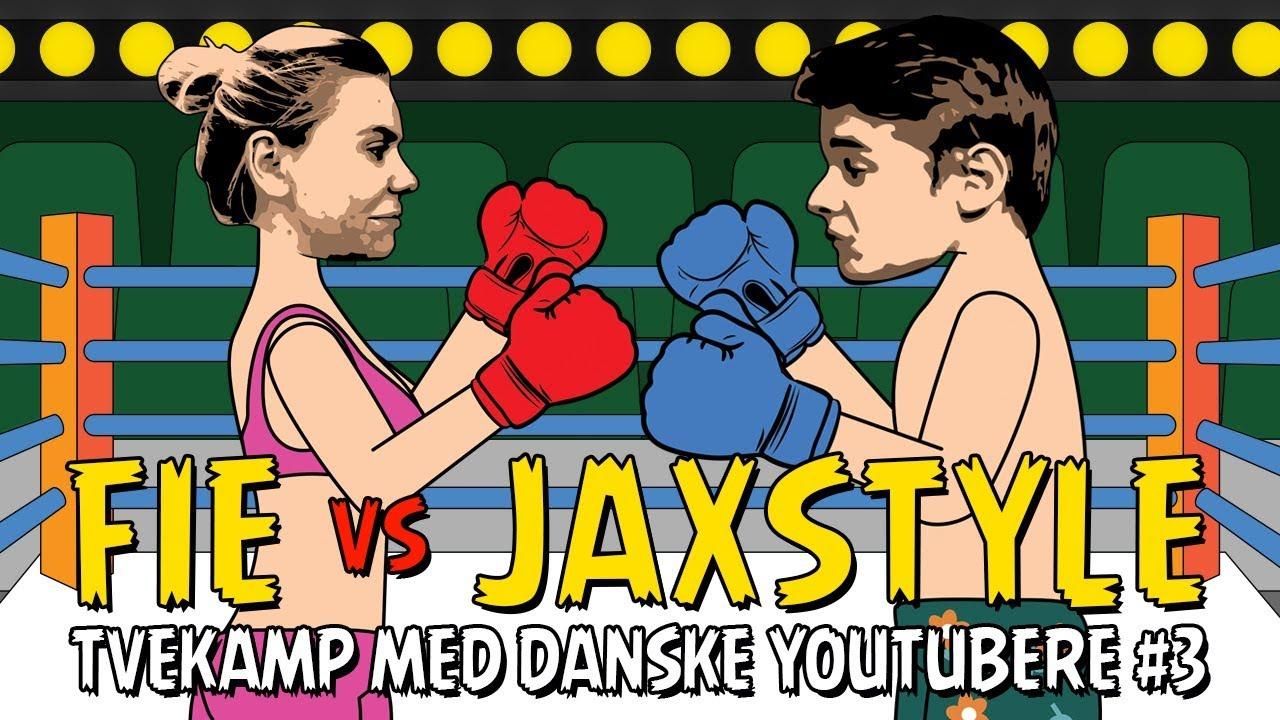 Fie vs. Jaxstyle Boksekamp - Tvekamp med Danske Youtubere #3 ft. Niklas Larsen