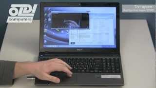 Обзор ноутбука Acer Aspire 5750G