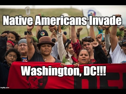 WEB EXCLUSIVE: Native Americans Invade Washington, DC! We Investigate