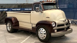 1954 Chevrolet 5700 COE 4x4 6.6 LBZ Duramax Diesel Hauler Build Project