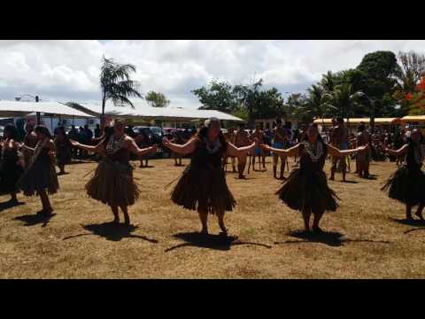 GRAL performing for the Republic of Marshall Islands delegation.