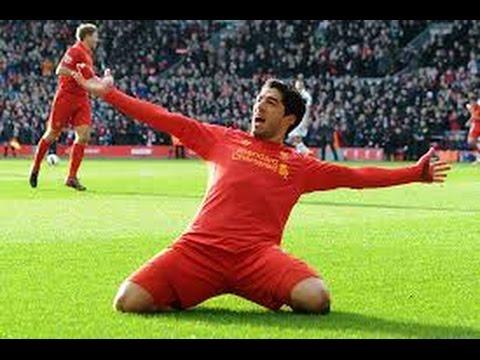 All of Suarez' 82 goals for Liverpool. Insane
