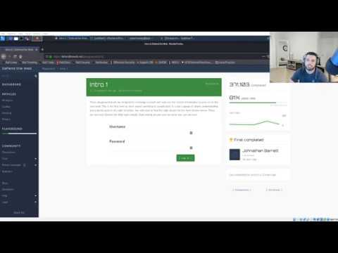 Defend The Web - Intro 1 with CyberMunky @ Exploit Security [SOLUTION]