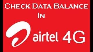 Airtel Data Check Karne Ka Number | Net Pack Kaise Dekhe
