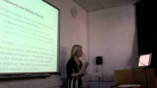 Bar Society - Legal Writing With Dr. Lisa Webley