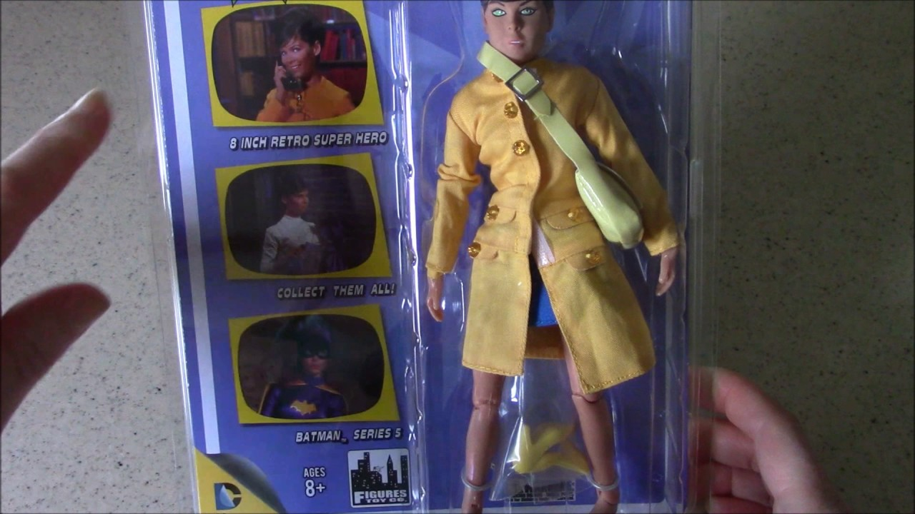 Batman 66 Classic TV Show Retro Style 8 Inch Figures Series 5 Barbara Gordon