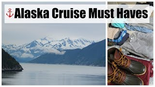 WHAT TO PACK FOR AN ALASKAN CRUISE   Cruise Tips