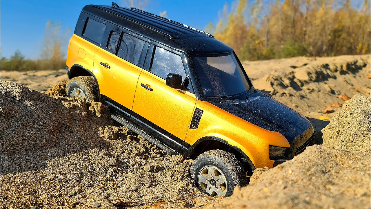 NEW Land Rover Defender 2020 Trophy Edition 4x4 OFF Road Action