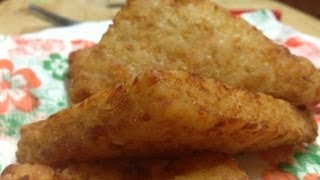 Mcdonalds Hash Browns Recipe - How To Make Fast Food Style Hash Browns | Breakfast Recipe Video
