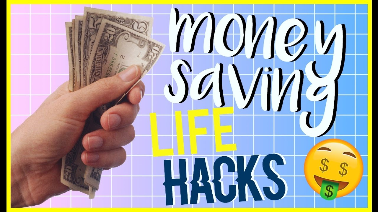 How to SAVE MONEY! *Life Hacks*