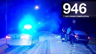 rally crash | Car Crash Compilation 946   December 2017