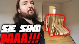 SIE SIND ENDLICH DA!!! | XXL VLOG
