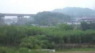 セマウル号の車窓から 萬鐘→原州