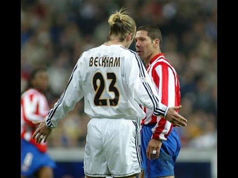 David beckham vs Atlético Madrid II II Real Madrid 2003 ...
