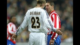 David beckham vs Atlético Madrid II II Real Madrid 2003-2004-Man of the match